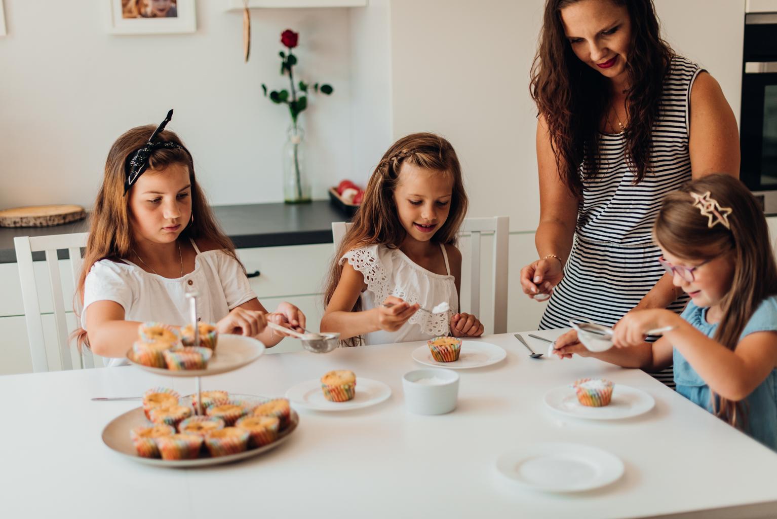 sesja rodzinna w kuchni poznań